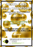 Wednesday Mixed Competition