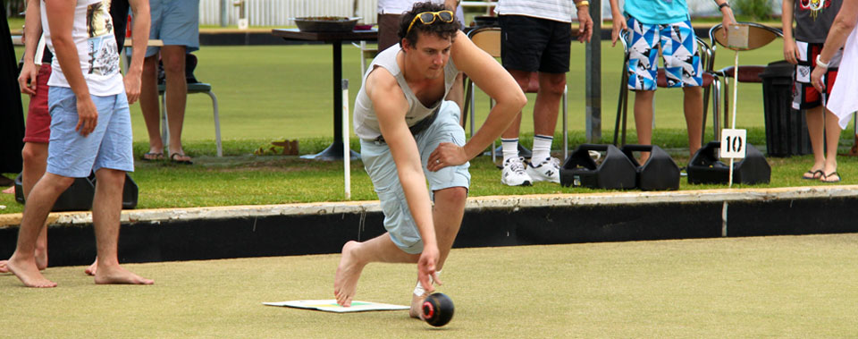 Barefoot Bowls.......Get a group together!